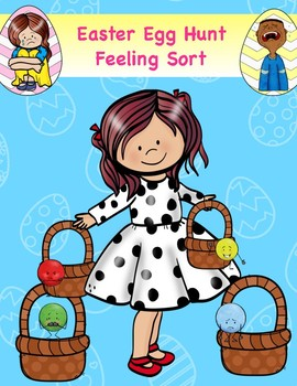 Feelings Easter Egg Hunt & Sort: Emotion Identification & Empathy