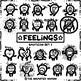 FEELINGS Emoticon Set 1