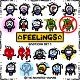 FEELINGS Emoticon Set 1