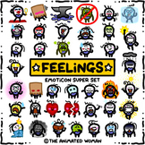 FEELINGS Emoticon Super Set BUNDLE