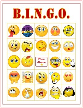 Feelings & Emotions BINGO