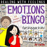 Feelings Emotions Bingo - grades 2-5