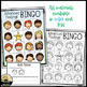 Feelings / Emotions Bingo Game Advanced K-3