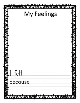 Feelings / Emotions Book