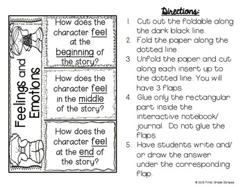 Feelings & Emotions Charts and Activities