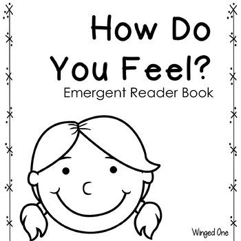 Feelings Emotions Emergent Reader Book