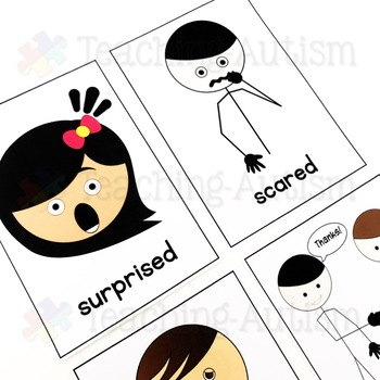 Feelings / Emotions Flashcards