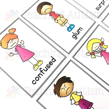 Feelings and Emotions Posters Flashcards