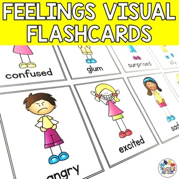 Feelings, Emotions, Flashcards
