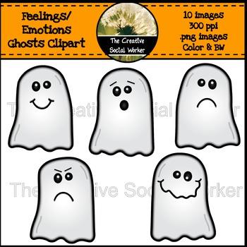 Feelings / Emotions Ghost Clipart