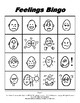Feelings Emotions Make & Take BINGO, Speech Therapy, Autism
