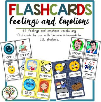 Flashcards Feelings and Emotions Part 1