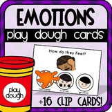 Feelings + Emotions Play Dough Cards (+Clip Cards) Special Education