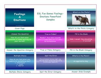 Feelings-Emotions PowerPoint Slideshow