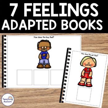 Feelings and Emotions Adapted Books For Special Education