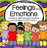 Feelings and Emotions: Activities, Oral Language, Centers, and Printables