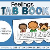 Feelings & Emotions Tab Book