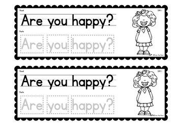 Feelings / Emotions Week of Writing Activities {Week of Writing Booklet}