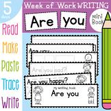 Feelings / Emotions Week of Writing Activities {Week of Wr