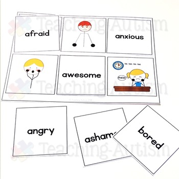 Word Picture Matching: Feelings and Emotions