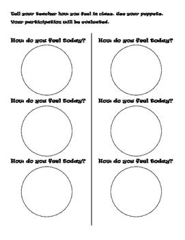 Feelings/Emotions Worksheets