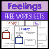 Feelings And Emotions Worksheets - FREE