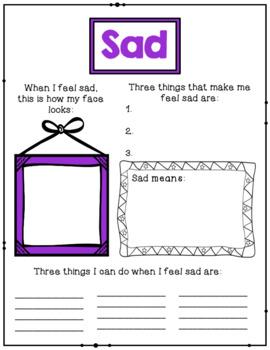 Feelings And Emotions Worksheets - FREE