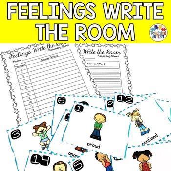 Feelings and Emotions Write the Room