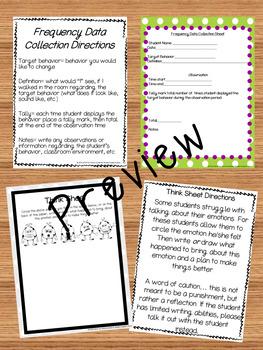 Feelings, Emotions and Behavior Worksheets