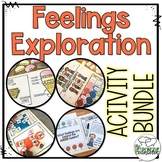 Feelings Exploration Activities BUNDLE: Individual/Group C