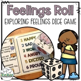 Feelings Exploration Dice Activity FREEBIE