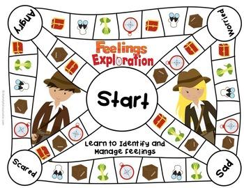 Feelings Game: Feelings Exploration