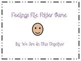 Feelings File Folder Game - Matching (Autism)
