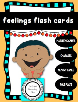 Feelings Flash Cards 2