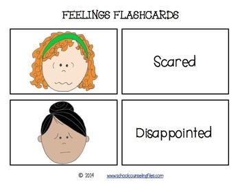 Feelings Flash Cards 1
