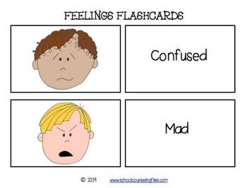 Feelings Flash Cards 1