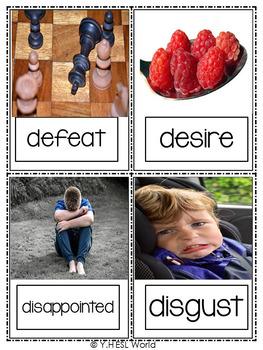 Feelings Flashcards Real Life Photos
