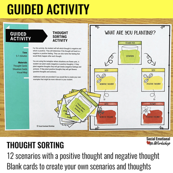 Feelings Craft Activity: Connect Situations, Thoughts, and Feelings.