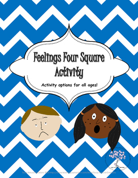 Feelings Four Square- Options for all Ages