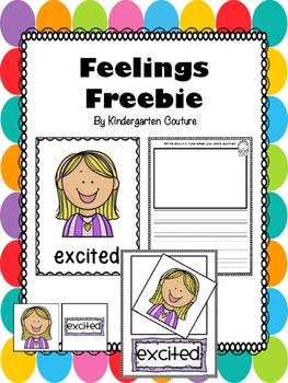 Feelings Freebie