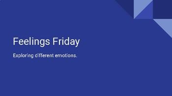 Feelings Friday Bell Work