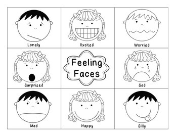 Feelings Game, Activity, and Booklet Pack