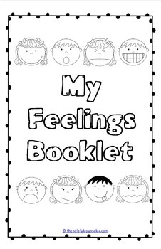 feelings game  activity  and booklet pack by the helpful