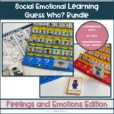 Feelings Guess Who? Bundle || Teaching Feelings Games