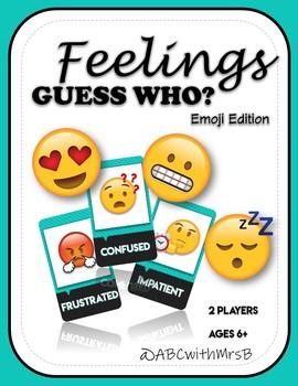 Feelings Guess Who?: Emoji Edition