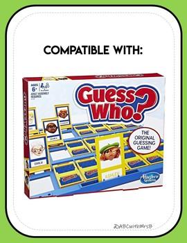 Feelings Guess Who?: LEGO Edition