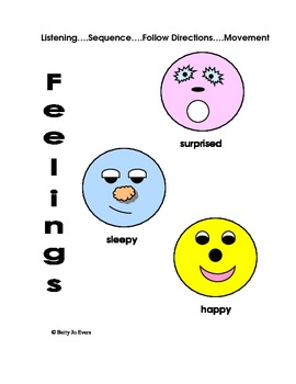 Feelings: Happy to Grouchy to Sad