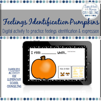 Feelings Identification Digital Activity for Elementary School Counseling