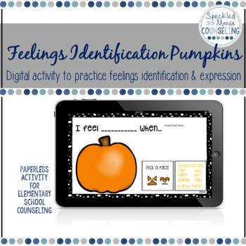Feelings Identification Digital Activity for Elementary School Counseling