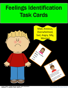 Feelings Identification Task Cards